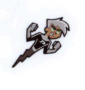 Danny Phantom Embroidered Patch