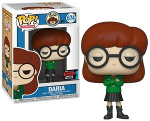 Daria 2019 Exclusive Daria Funko Pop Figure