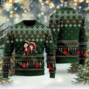 Daria 3d Ugly Christmas Sweater