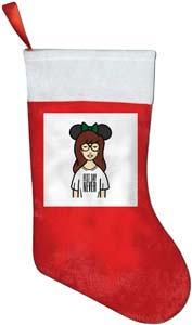 Daria Best Day Never Merry Christmas Stocking