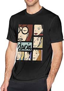 Daria Character Panels T Shirt
