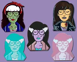 Daria Enamel Pin Bundle