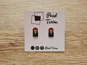 Daria Handmade Stud Earrings
