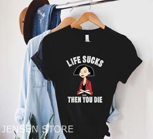 Daria Life Sucks Jane Graphic T Shirt