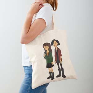 Daria And Jane Tote Bag