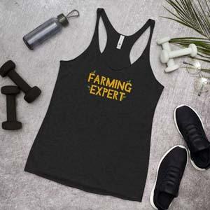 Farming Expert Tank Top