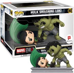 Funko Pop Movie Moments Marvel Studios Hulk Smashing Loki