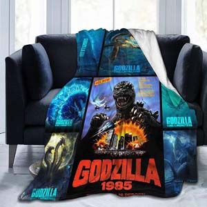 Godzilla 2 King Of The Monsters Throw Blanket