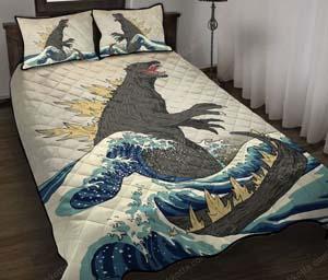 Godzilla Bedding Set
