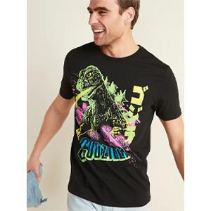 Godzilla Graphic Gender Neutral Tee