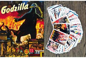 Godzilla Playing Cards