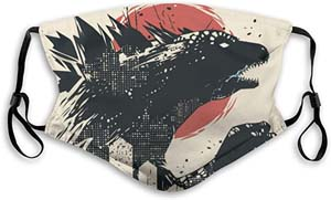 Godzilla Reusable Face Mask