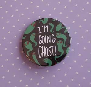 Going Ghost Button
