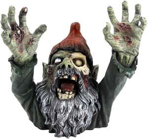 Graveyard Garden Zombie Gnome Statue