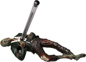 Impaled Zombie Pen Holder