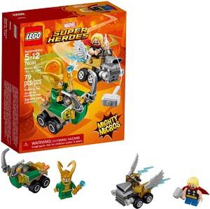 Lego Marvel Super Heroes Mighty Micros Thor Vs Loki