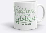 Loki Burdened With Glorious Purpose Mug