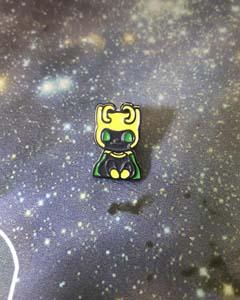 Loki Cat Enamel Pin