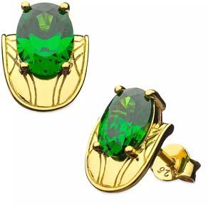 Loki Chestplate Stud Earrings