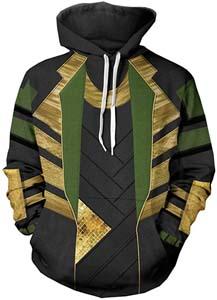 Loki Cosplay Hoodie Jacket