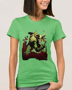 Loki Customizable Wicked Grin T Shirt