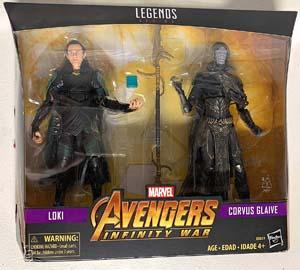 Mv Legends Series Avengers Infinity War Loki & Corvus Glaive
