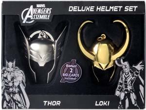 Marvel Limited Edition Loki And Thor Helmet Key Ring Set