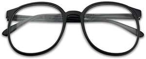 Over Sized Round Thin Nerdy Daria Esque Glasses