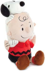 Peanuts Charlie Brown And Snoopy Together Stuffed Animal
