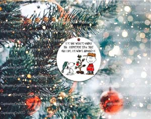 Peanuts Christmas Ornament