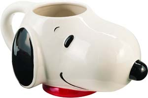 Peanuts Snoopy Sculpted Ceramic Mug