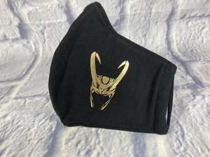 Personalized Loki Face Mask