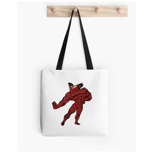 Sassy Crimson Chin Tote Bag