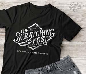 Scratching Post T Shirt