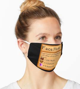Stardew Valley Face Mask