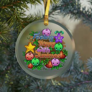 Stardew Valley Junimo Ornament