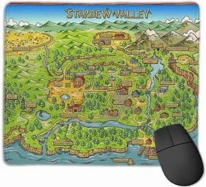 Stardew Valley Map Mousepad
