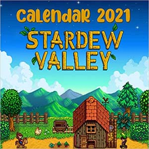 Stardew Valley Mini 2021 Calendar