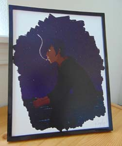 Stardew Valley Sebastian Art Print