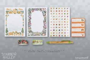 Stardew Valley Stationery Set