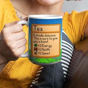 Stardew Valley Tea Stats Mug