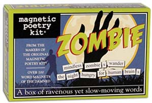 Zombie Kit Words For Refrigerator
