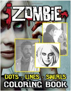 Izombie Dots, Lines & Swirls Coloring Book