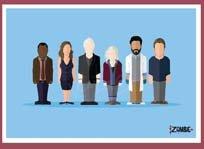 Izombie Minimalist Character Poster