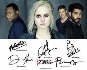 Izombie Signed Cast Photo Reprint
