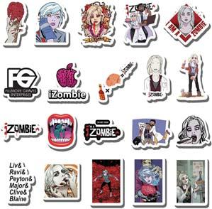 Izombie Sticker Pack