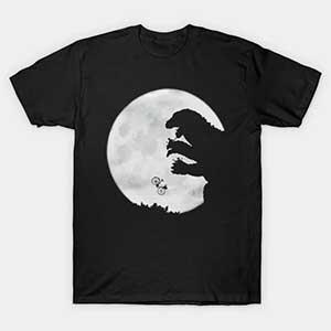 Et Vs Godzilla T Shirt