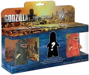 Funko Mystery Minis Godzilla 3 Pack