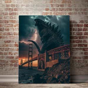 Godzilla Canvas Set