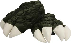 Godzilla Feet Plush Slippers